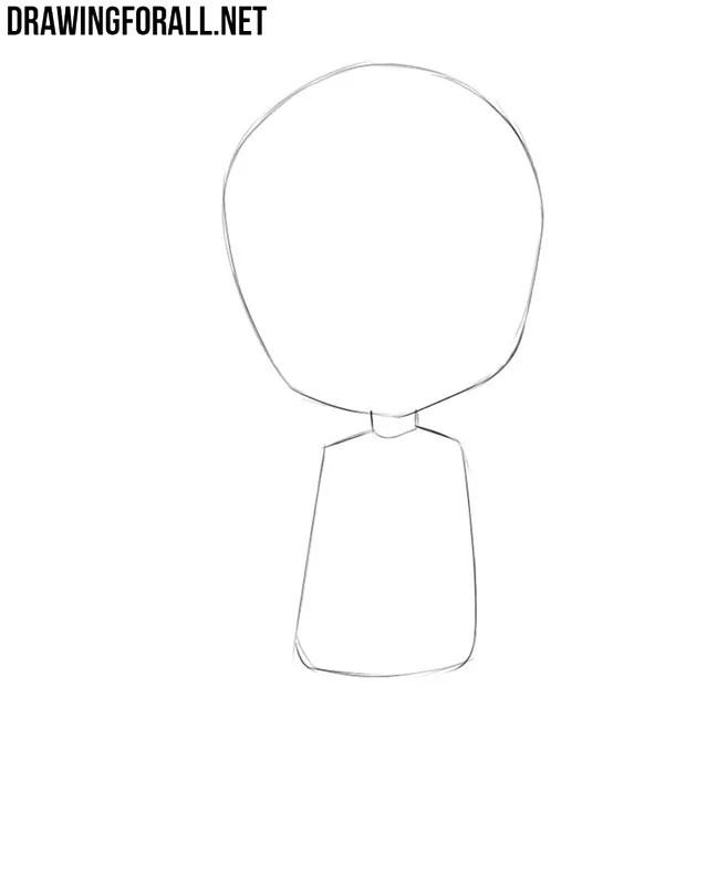 How To Draw Chibi Hair : chibi, Chibi, Drawingforall.net