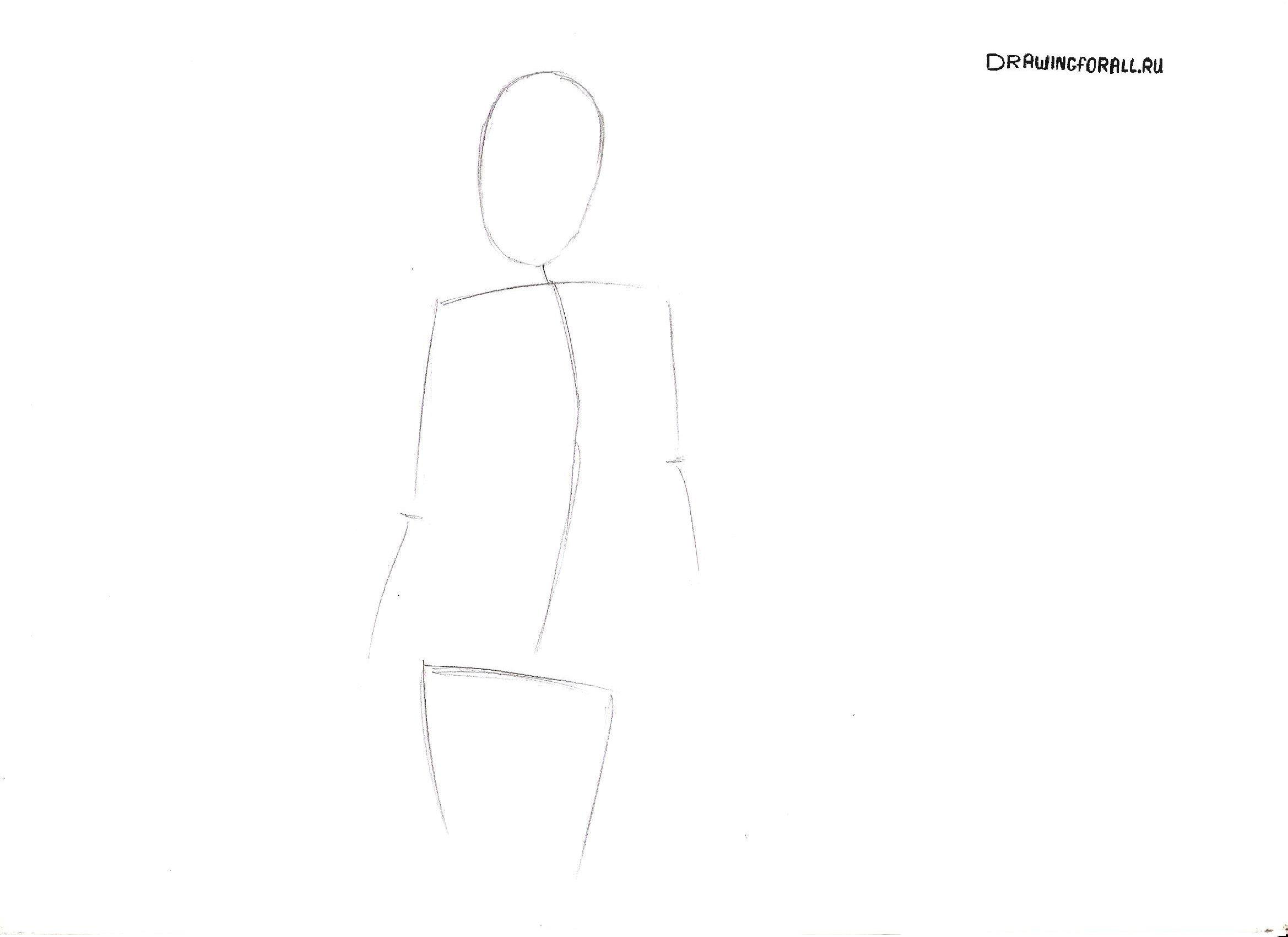 рисовать 3 девочек как нарисовать женщину в полный рост