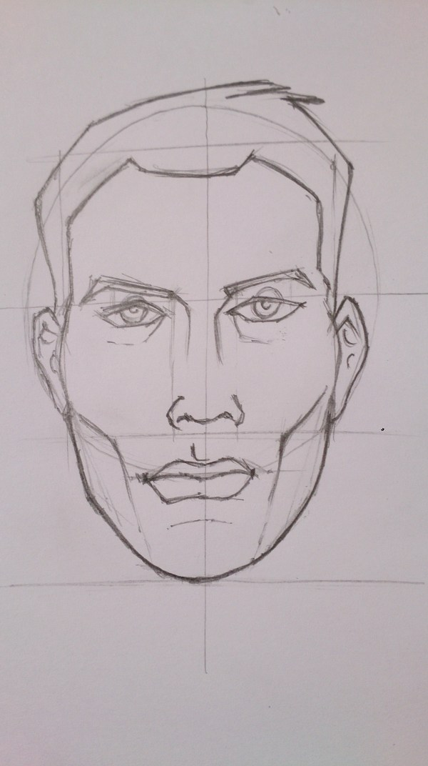 Line Drawings Graphic Novel Art