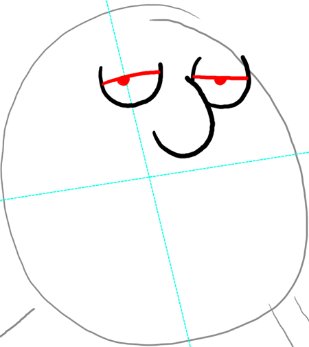How to Draw Chris Griffin from Family Guy : Step by Step