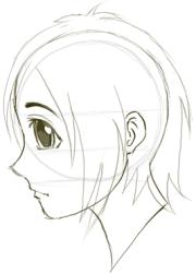draw anime & manga faces