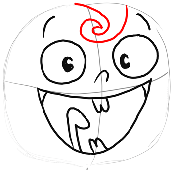 How to Draw Flapjack with Easy Step by Step Drawing