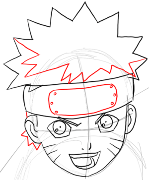 naruto drawing draw easy step uzumaki characters tutorial simple steps instructions getdrawings lesson drawinghowtodraw