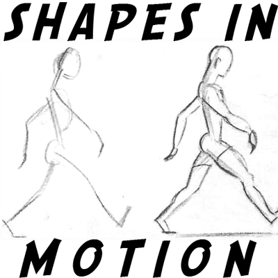 How to Draw the Movement of Shapes and People's Figures