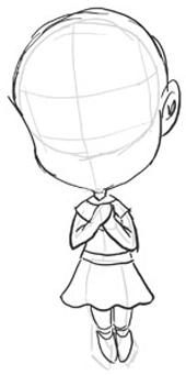 Drawing Chibi Bodies : drawing, chibi, bodies, Drawing, Chibis, Girls, Anime, Tutorial, Tutorials