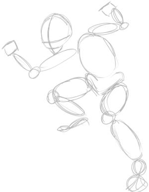 zelda link drawing legend draw step tutorial easy steps