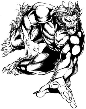 marvel beast drawing superhero team draw pencil superheroes drawings easy hulk xmen tutorial finished getdrawings marvels