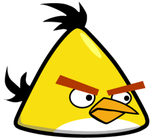 angry birds bird yellow draw drawing easy step drawings clipart characters tutorial chuck rio tutorials clip drawinghowtodraw space finished paintingvalley
