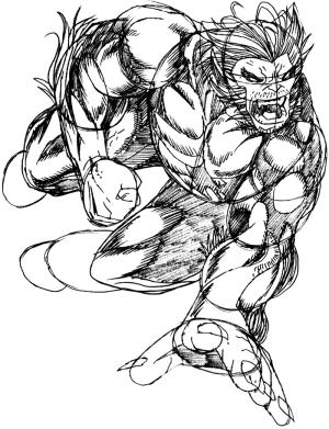 step superhero drawing draw beast marvel super heroes team easy steps