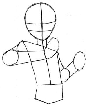 step yu gi oh drawing easy yugi draw yami tutorial steps