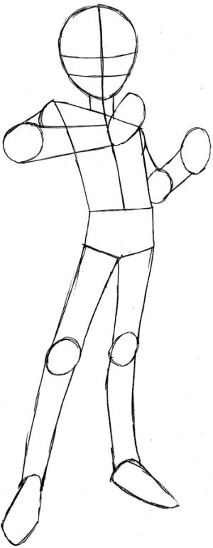 step yu gi oh drawing draw easy yugi yami tutorial steps