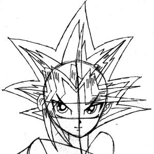 Simple Yugioh Drawings Easy