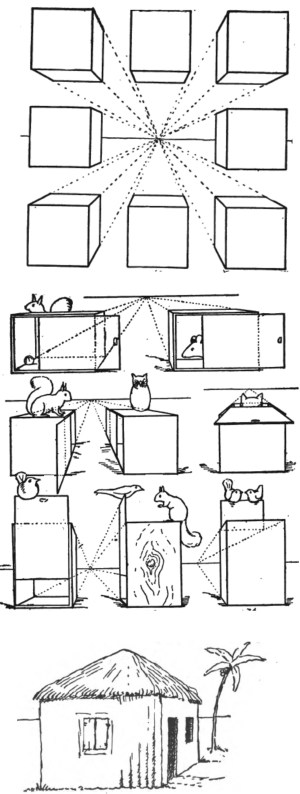 drawing draw shapes easy basic learn way cubes things sketch drawinghowtodraw step perspective objects drawings lessons sketches figure