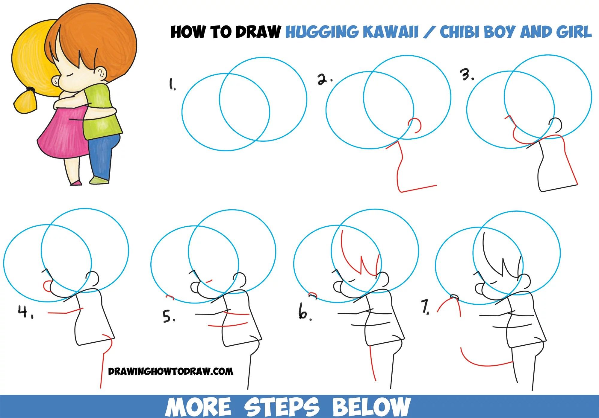How To Draw Easy Chibi Animals Kawaii Animal Drawing Cute Chibi