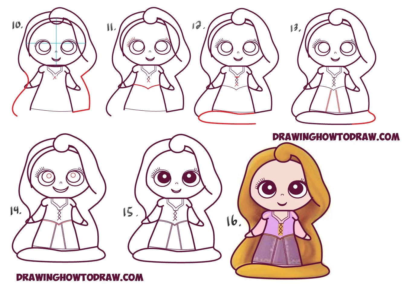 Easy Step By Step Drawings Of Disney Princesses How To Draw Fairy