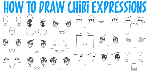 How to Draw Chibi Emotions and Expressions in Easy Step by Step Drawing Tutorial for Beginners How to Draw Step by Step Drawing Tutorials