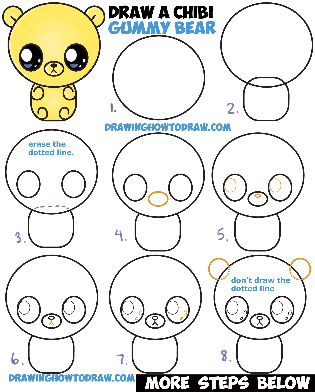 Drawing Ideas Easy Cute Step By Bestchristmasdeals Org