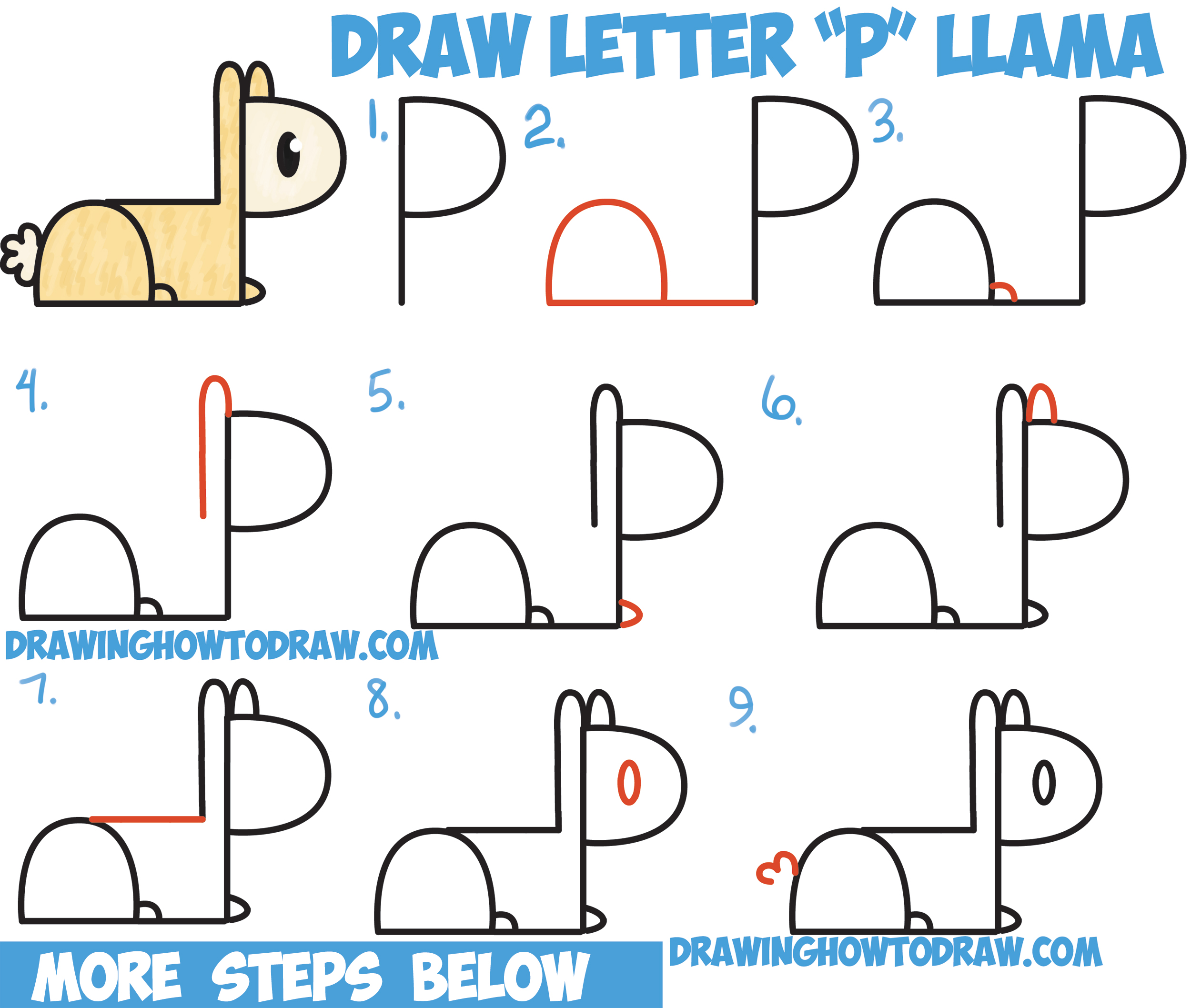 Easy Letter Art Drawing How To Draw A Cartoon Bear From Letters