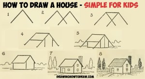 step draw drawing easy shapes geometric simple beginners tutorial sketch steps drawings learn tutorials children architecture 3d drawinghowtodraw techniques sketching