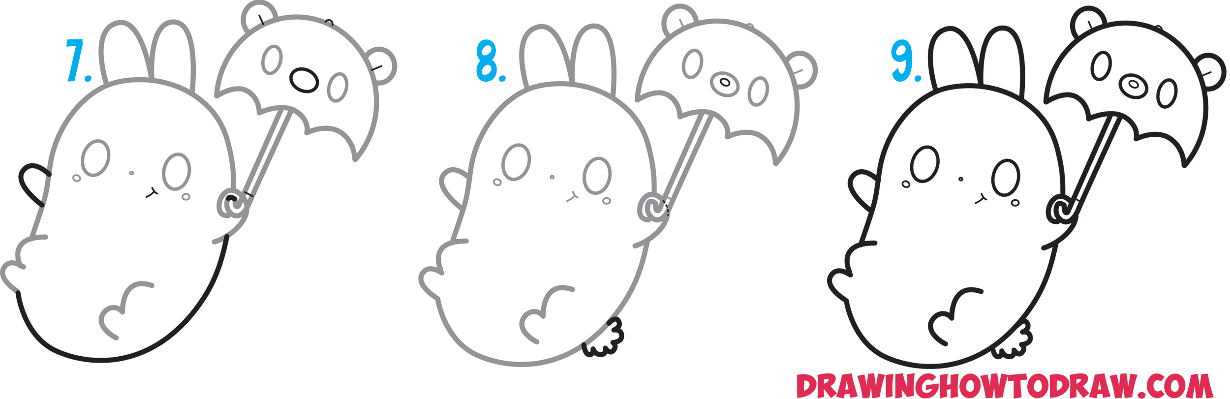 Teddy Bear Drawing Easy Step By Step How To Draw Super Cute