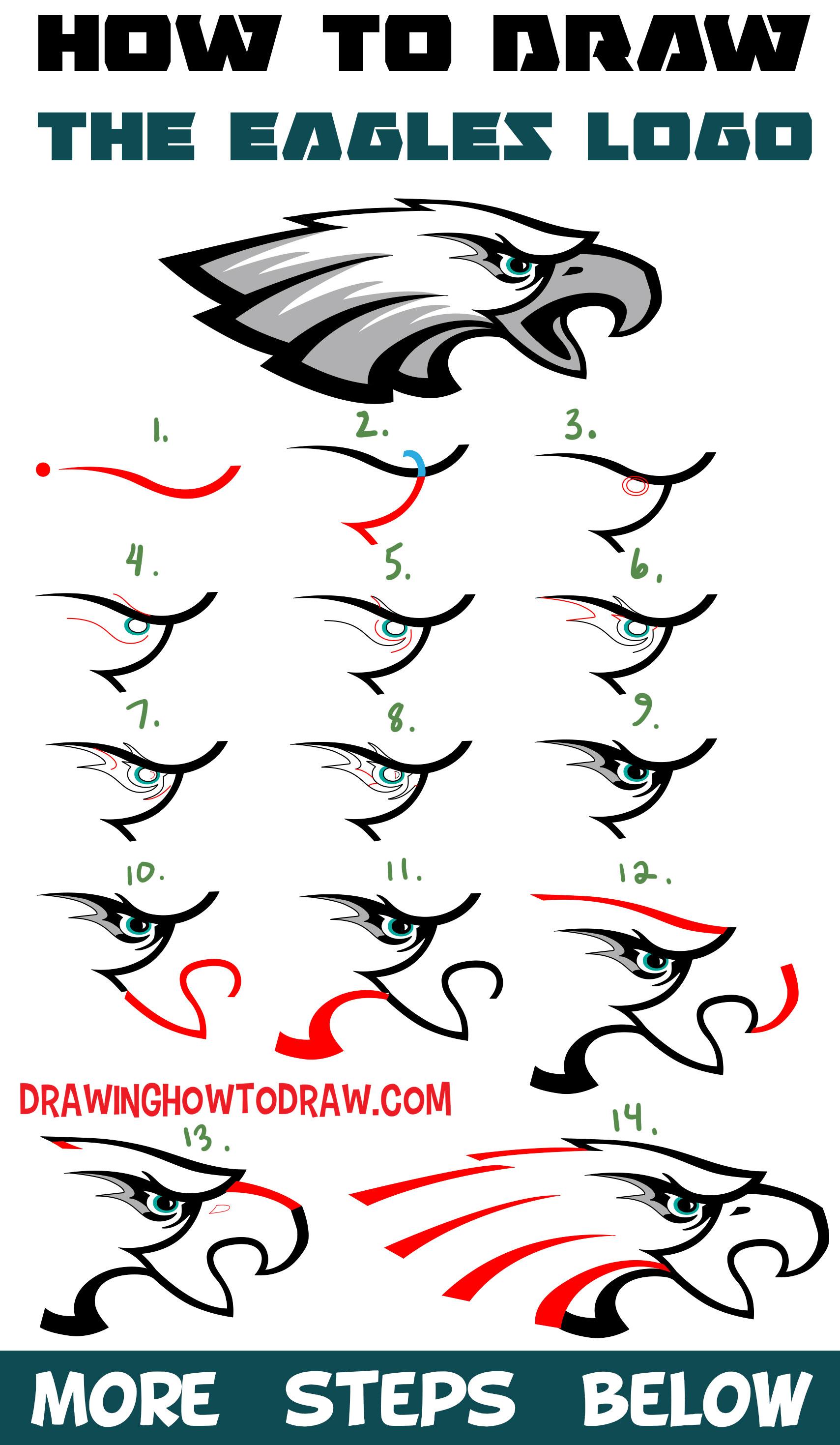 How To Draw Ninja Logo : ninja, Eagle's, Drawing, Lesson, Beginners, Tutorials