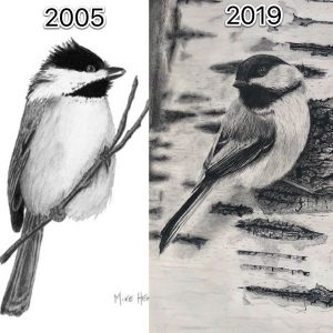 Chickadee then and now