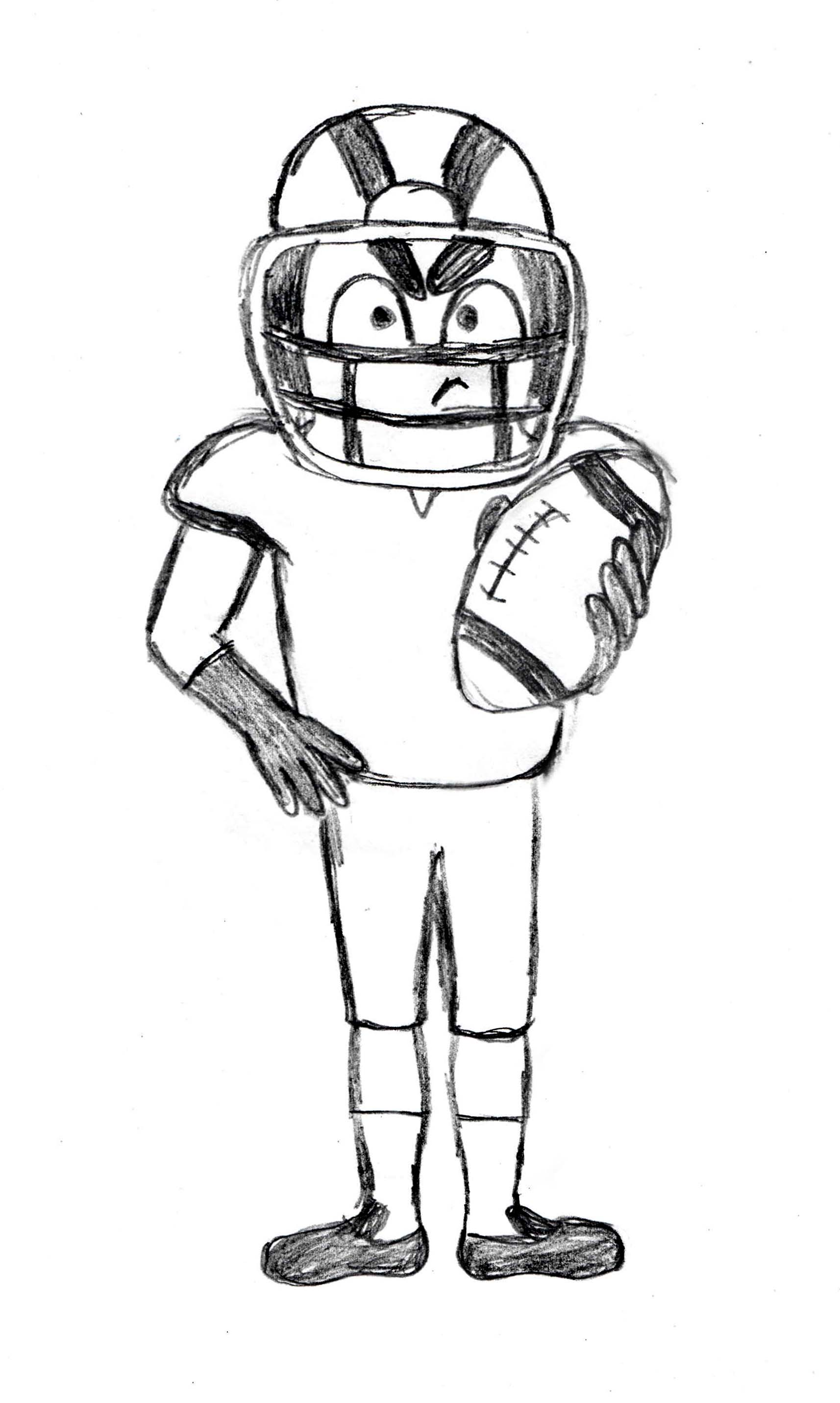 football player_sketch