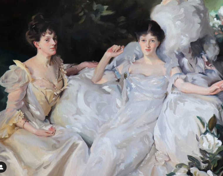 Kelly Foss Master Copy Sargent Painting