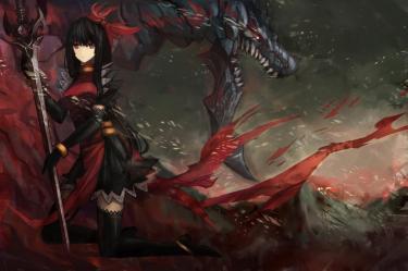dragon anime hair eyes slayer hd blade drawingnow 1299 previous