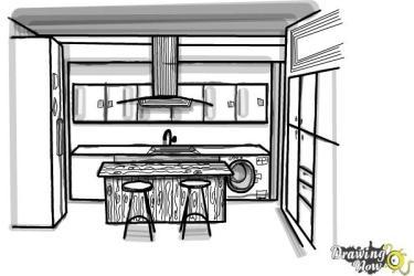 kitchen draw step drawingnow steps