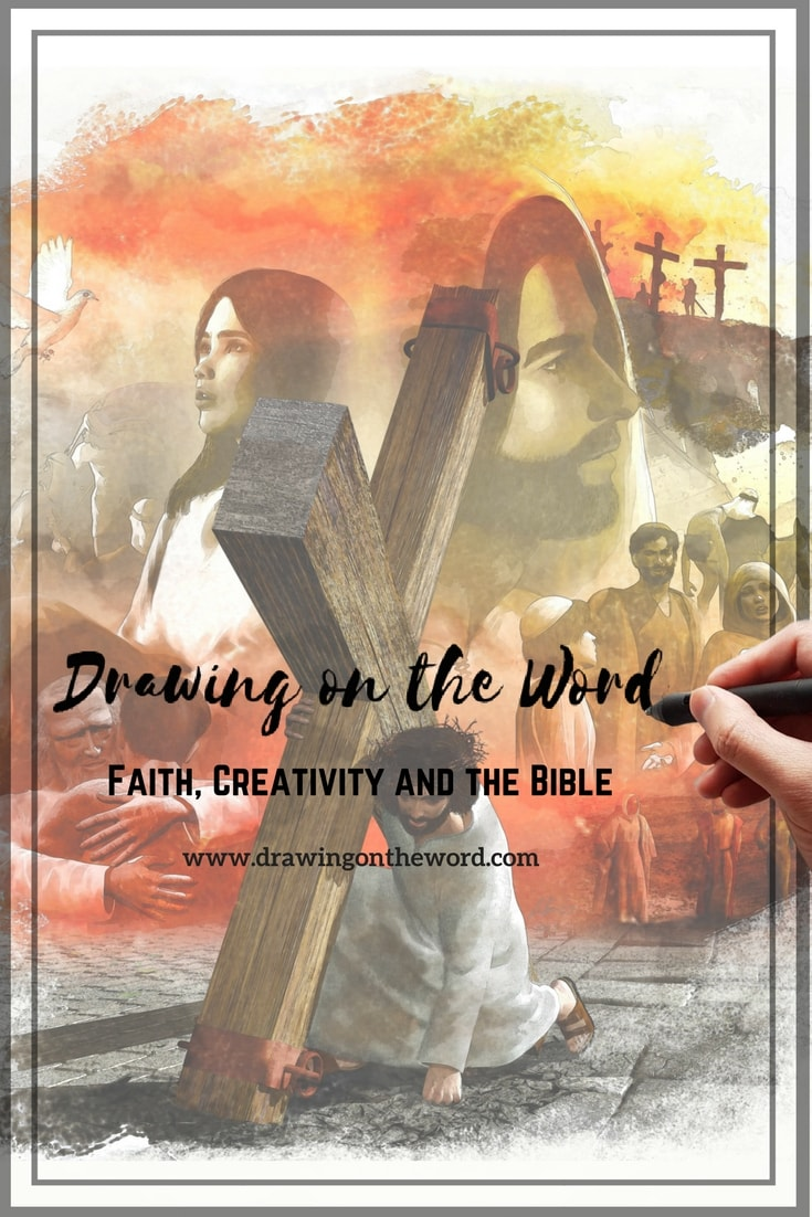 Drawing on the Word: Creativity and Faith | Graphic Novel Bible| Bible Journaling| Verse Mapping| Christian Art |Bible studies| Theological discussion
