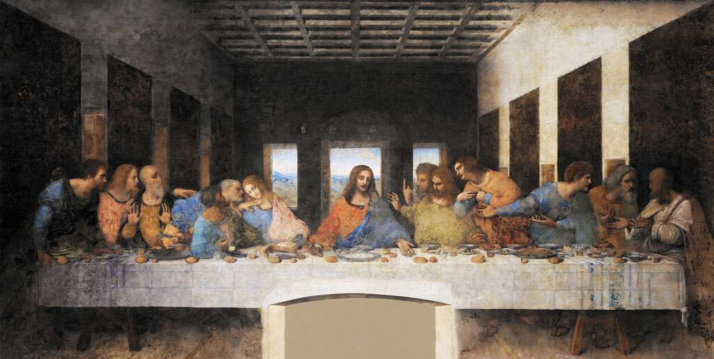 The Last Supper by Leonardo Da Vinci - The Maestro took creative rest