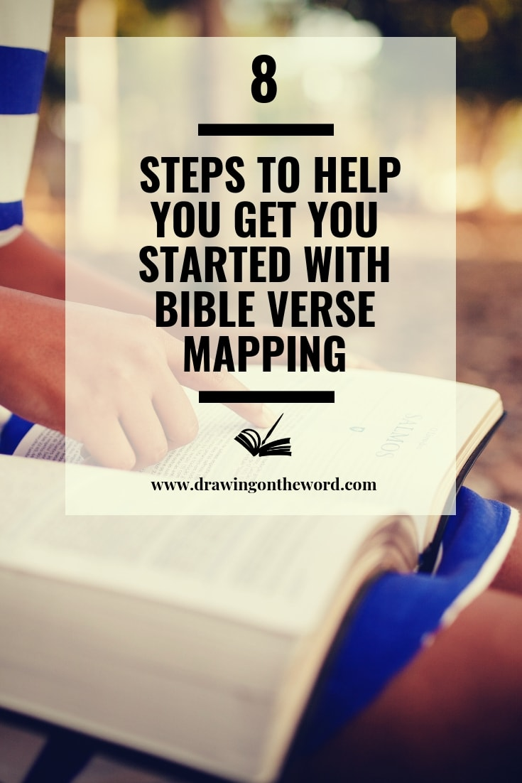 Discover 8 steps to help you get started with Bible Verse Mapping and improve your Bible Study and enjoyment of God's word. Free Verse Mapping template included. #bibleversemapping #versemapping #biblestudy #bible #biblereading #dailybiblestudy #bgbg2