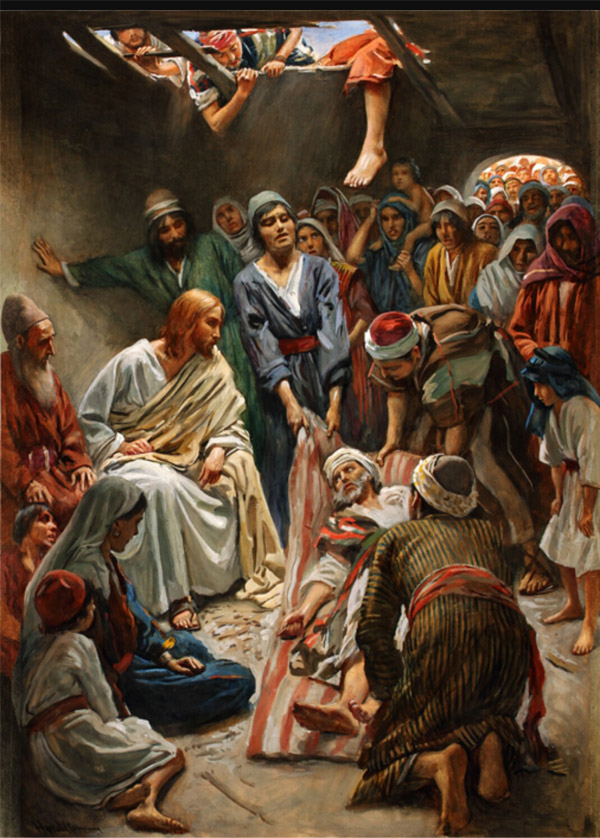 Speech acts - Jesus forgives the paralytic's sin