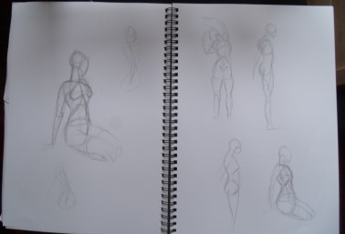 Figure drawing - Reilly method
