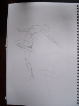 Dynamic figure sketching