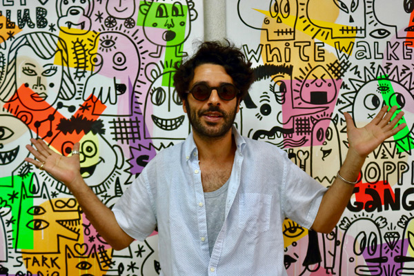 """""""Fanboy"""", site-specific project by Albert Pinya for Drawing Room Lisboa, with curatorship by Bruno Leitão"""