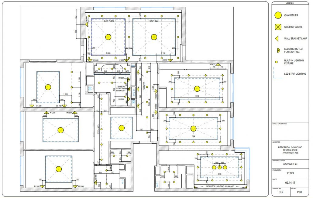 Residential Drafting Services: 7 Key Types of Interior