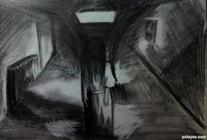 dark drawing horror kid sketch pencil pxleyes realistic contest score views sbs rank favs created hi res colorful
