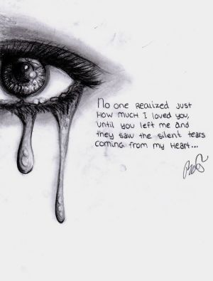 deep drawings drawing emotional meaningful sad heart pencil quotes draw sketch tears eyes silent realistic emotions easy powerful colorful broken