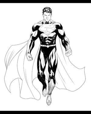 superman drawing hero superhero drawings sketches super sketch pencil superheroes comic ryan benjamin pencils clarkkent dccomics digital digitalart inks easy