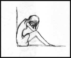 sad drawing sitting easy down sketch anime drawings simple crying template templates sketches paintingvalley faces deviantart google pretty
