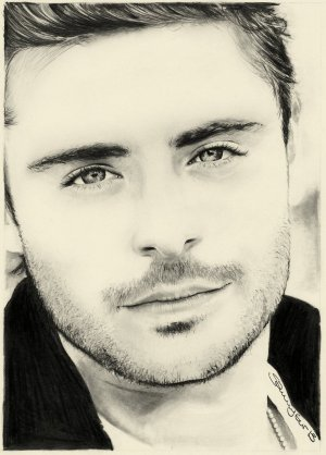 zac efron sketch drawing drawings realistic deviantart miss jake hit pencil colorful