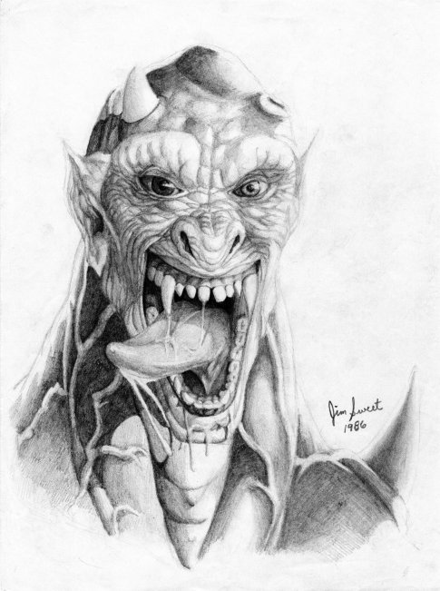 Realistic Devil Drawing : realistic, devil, drawing, Devil, Drawing,, Pencil,, Sketch,, Colorful,, Realistic, Images, Drawing, Skill