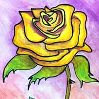 draw roses yellow rose flowers tree wonder learn paint many them want drawingteachers