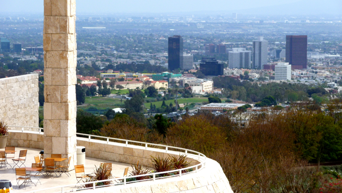 Bazillion dollar view from the Getty Museum