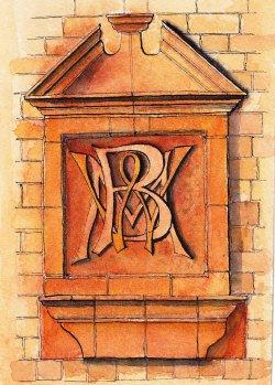 Interwoven Initials W M B