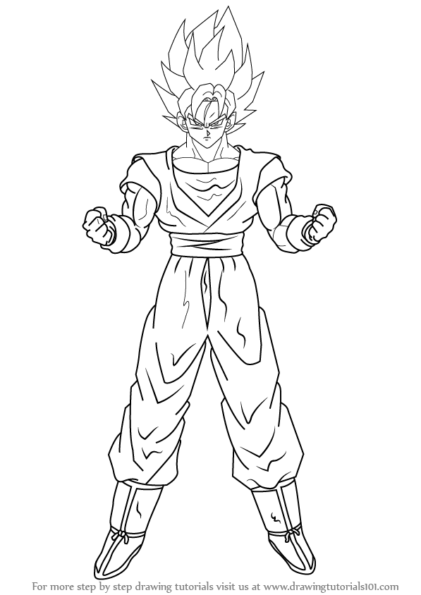 How To Draw Goku Super Saiyan 10000 : super, saiyan, 10000, Learn, Super, Saiyan, Dragon, (Dragon, Drawing, Tutorials