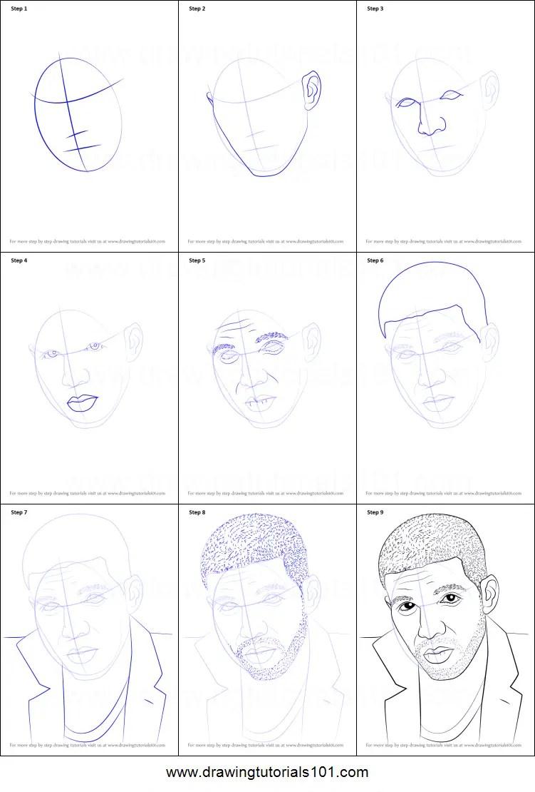 Drake Drawing Easy : drake, drawing, Drake, Printable, Drawing, Sheet, DrawingTutorials101.com