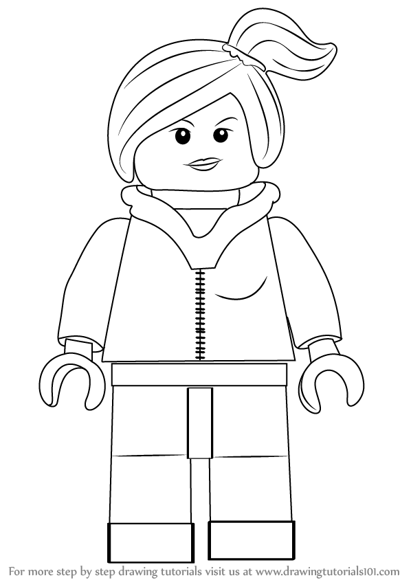 How To Draw Lego People : people, Learn, Wyldstyle, Movie, Movie), Drawing, Tutorials